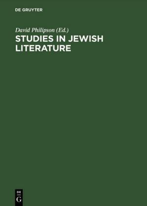 Studies in Jewish literature