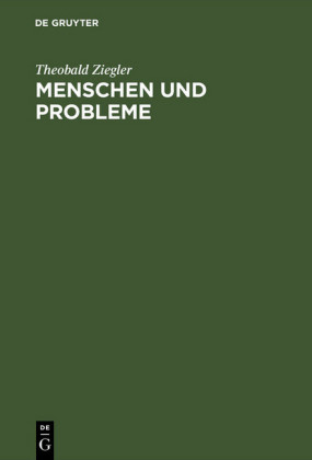 Menschen und Probleme