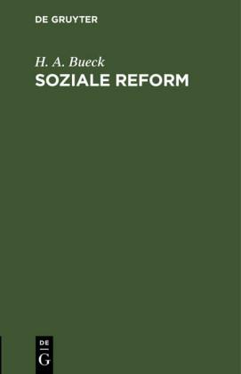 Soziale Reform