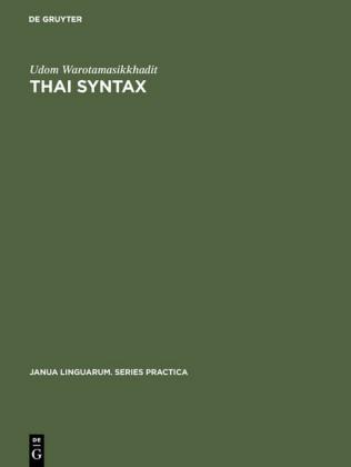 Thai Syntax