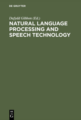Natural Language Processing and Speech Technology
