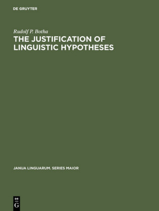 The Justification of Linguistic Hypotheses