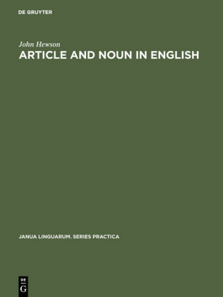 Article and Noun in English