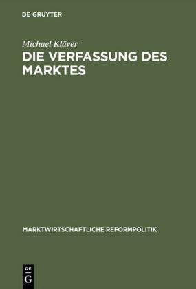 Die Verfassung des Marktes