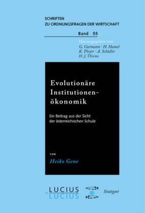 Evolutionäre Institutionenökonomik