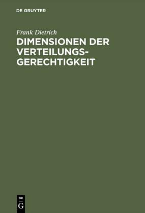 Dimensionen der Verteilungsgerechtigkeit