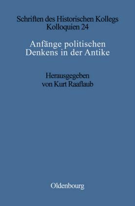 Anfänge politischen Denkens in der Antike