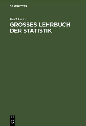 Großes Lehrbuch der Statistik