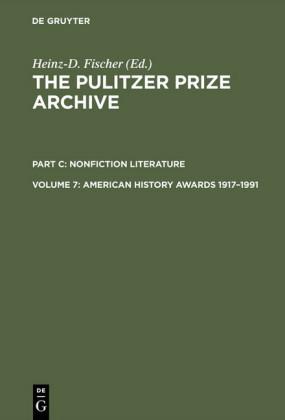 American History Awards 1917-1991