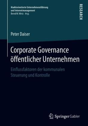 Corporate Governance öffentlicher Unternehmen