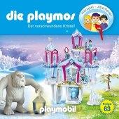 Die Playmos - Der verschwundene Kristall, 1 Audio-CD Cover