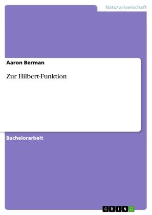 Zur Hilbert-Funktion