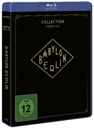 Babylon Berlin - Collection, 4 Blu-ray, Staffel.1-2
