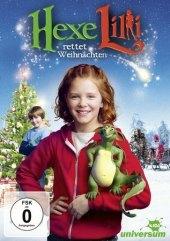 Hexe Lilli rettet Weihnachten, 1 DVD Cover
