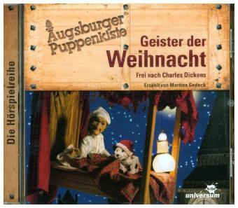 Augsburger Puppenkiste - Geister der Weihnacht, 1 Audio-CD