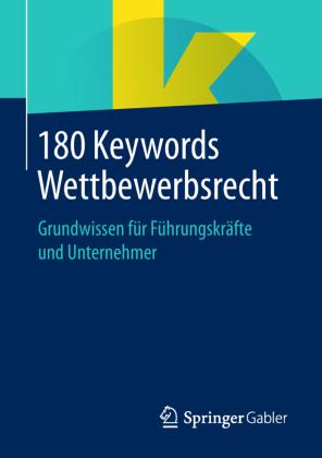 180 Keywords Wettbewerbsrecht