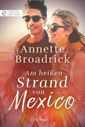 Am heißen Strand von Mexico