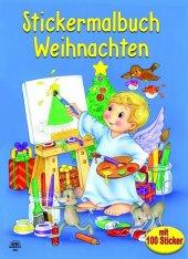 Stickermalbuch Weihnachten