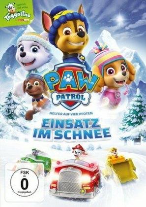 Paw Patrol: Einsatz im Schnee, 1 DVD