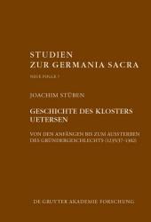 Geschichte des Zisterzienserinnenklosters Uetersen von den Anfängen bis zum Aussterben des Gründergeschlechts (1235/37-1302)
