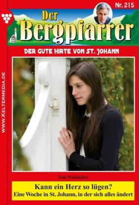 Der Bergpfarrer 215 - Heimatroman