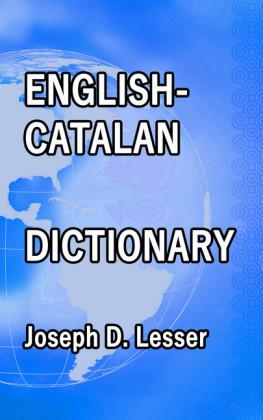English / Catalan Dictionary