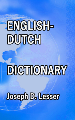English / Dutch Dictionary