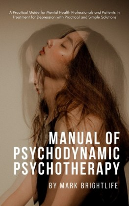 Manual of Psychodynamic Psychotherapy