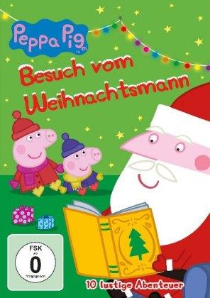 Peppa Pig - Besuch vom Weihnachtsmann, 1 DVD