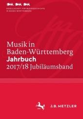 Musik in Baden-Württemberg. Jahrbuch 2017/18