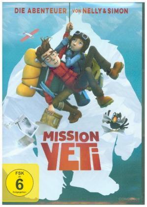 Mission Yeti - Die Abenteuer von Nelly & Simon, 1 DVD