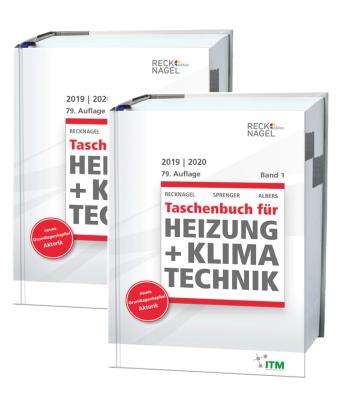 Recknagel - Taschenbuch für Heizung und Klimatechnik 2019/2020 - Premiumversion, m. CD-ROM