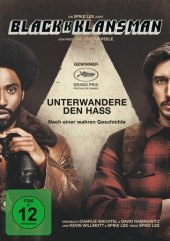BlackkKlansman, 1 DVD Cover