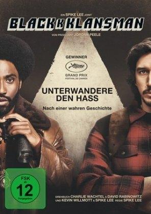 BlackkKlansman, 1 DVD
