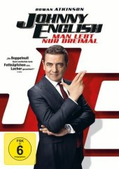 Johnny English - Man lebt nur dreimal, 1 DVD Cover