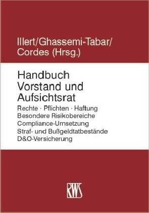Handbuch Vorstand und Aufsichtsrat