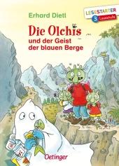 Die Olchis und der Geist der blauen Berge Cover