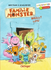 Familie Monster brüllt los!