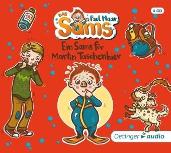 Das Sams 4. Ein Sams für Martin Taschenbier, 4 Audio-CD