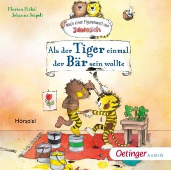 Als der kleine Tiger einmal der Bär sein wollte, 1 Audio-CD