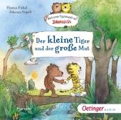 Der kleine Tiger und der große Mut, 1 Audio-CD Cover
