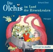 Die Olchis im Land der Riesenkraken, 1 Audio-CD Cover