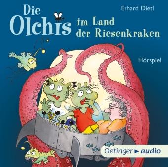Die Olchis im Land der Riesenkraken, 1 Audio-CD