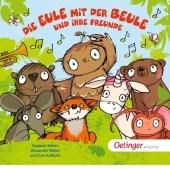 Die Eule mit der Beule und ihre Freunde Liederalbum, 1 Audio-CD Cover