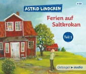 Ferien auf Saltkrokan, 4 Audio-CDs Cover