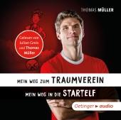 Mein Weg zum Traumverein/Mein Weg in die Startelf, 1 Audio-CD Cover