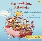 Das verflixte Alfa-Bett, 2 Audio-CDs