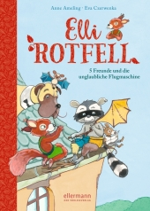 Elli Rotfell - 5 Freunde und die unglaubliche Flugmaschine Cover