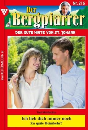 Der Bergpfarrer 216 - Heimatroman