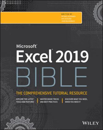Excel 2019 Bible,